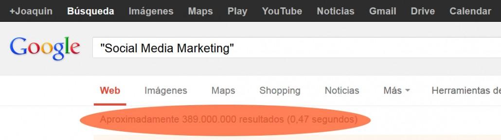 SMM 389 Millones de resultados